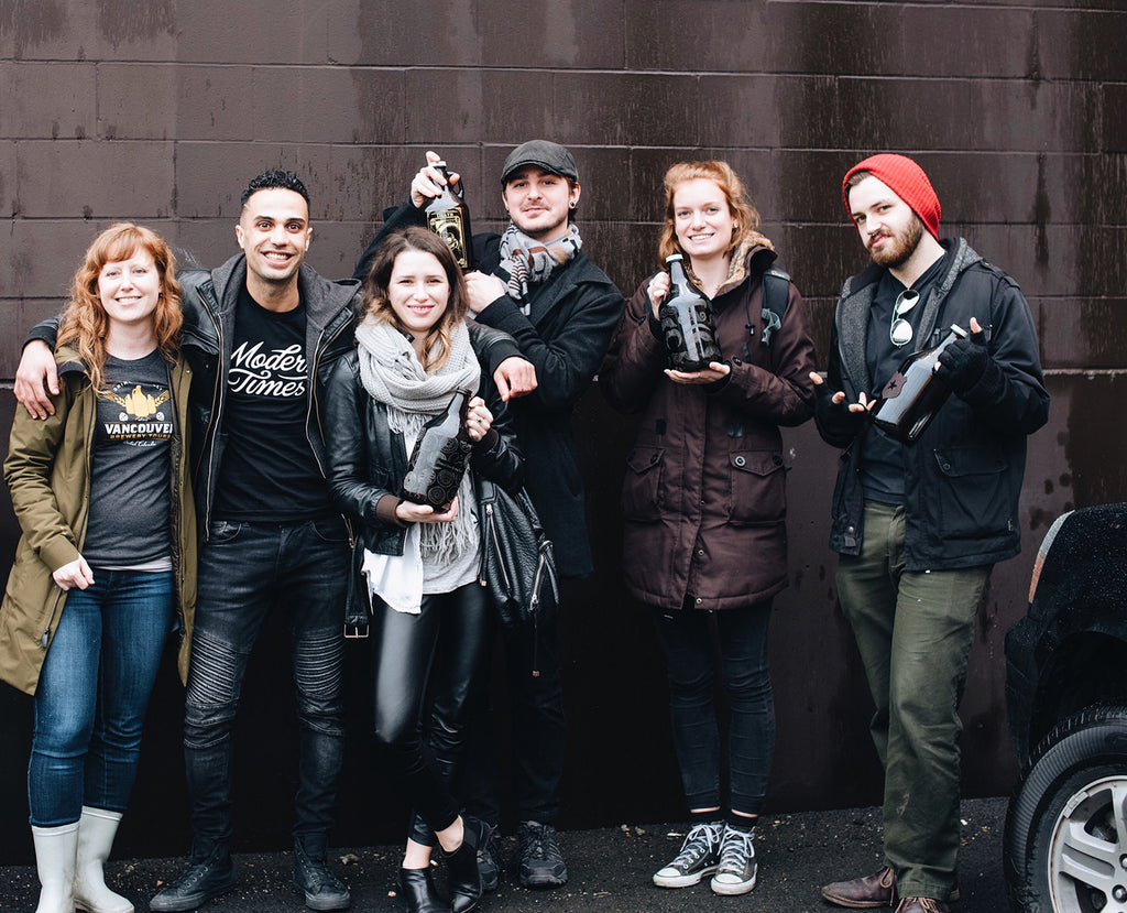 Sigil and Growler Team with Vancouver Brewer Tours