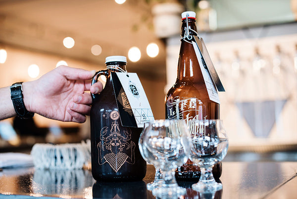 Luppolo Brewing Vancouver Free beer fill growelr promotion with Sigil and Growler