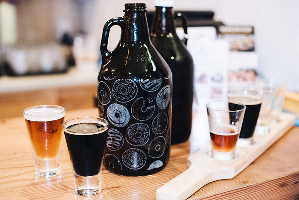 Personalized and custom beer growler gifts Vancouver