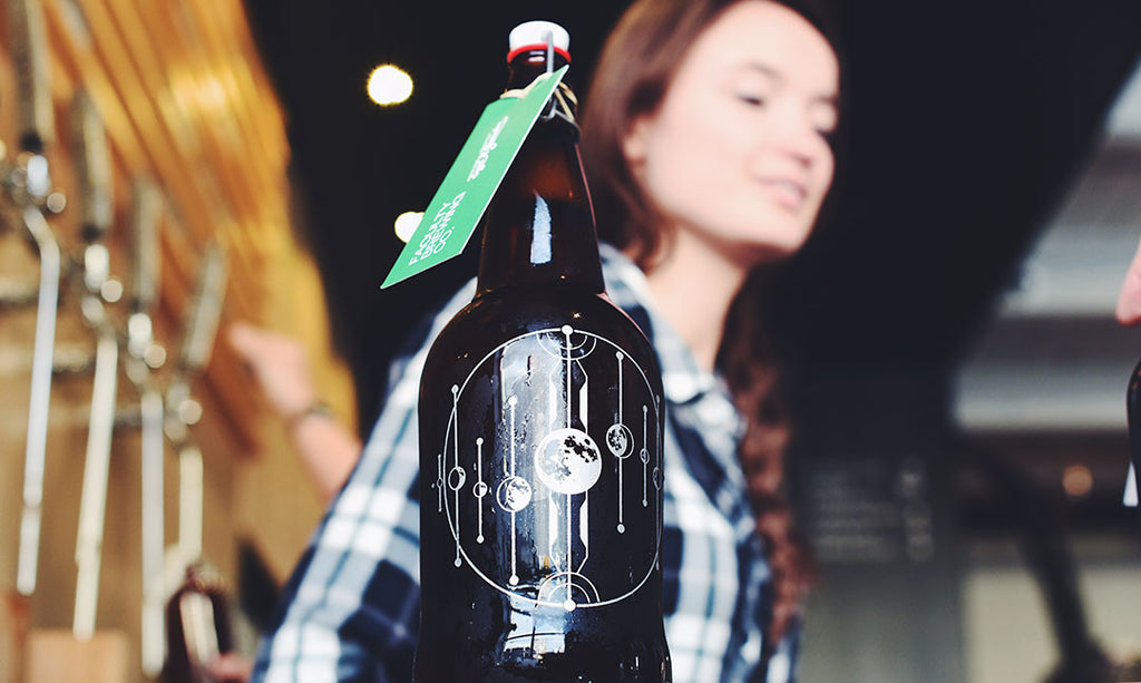 Personalized growler Vancouver with free beer fill Sigil and Growler Faculty Brewing