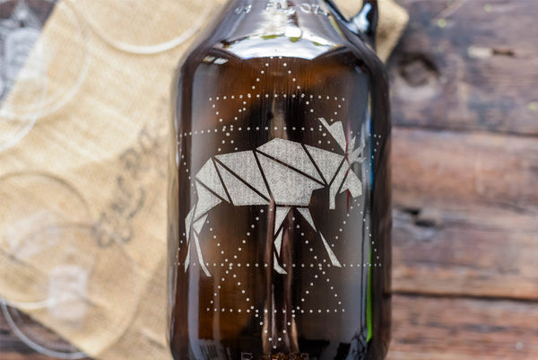 Canadian moose beer growler souvenir