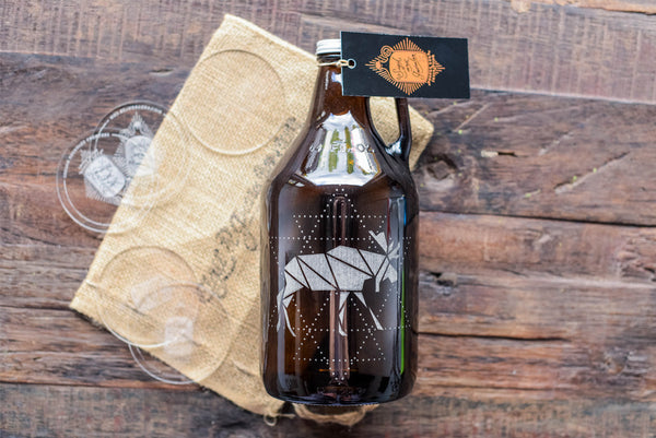 Canada's 150th birthday beer growler collection