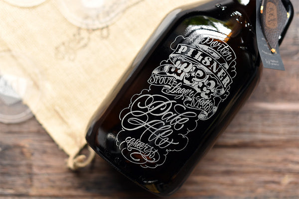 Beerography craft beer growler collection