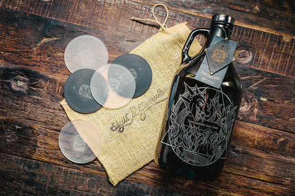 Customizable beer growler Elements collection