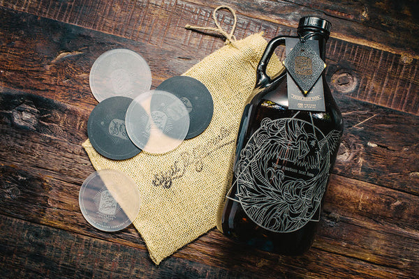 Air Element custom engraved beer growler