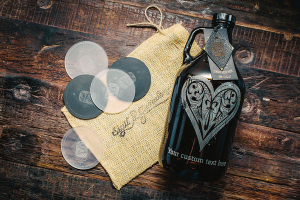 Rustic Royale Suit- Hearts Growler