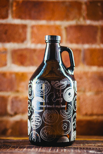 Donut pattern growler