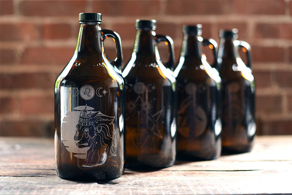 What's Your Sign? Zodiac Leo Growler