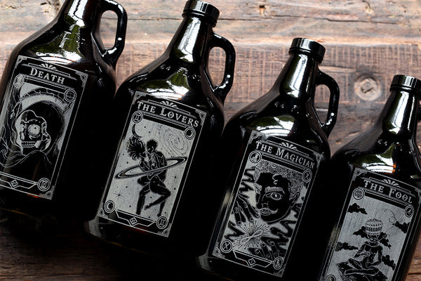 Taste of Tarot- The Lovers Growler