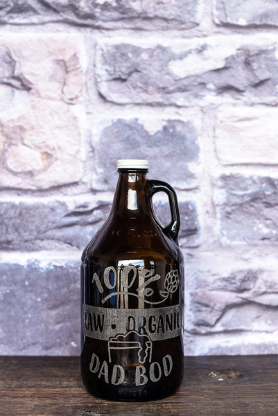 Dad Bod Father's Day Growler