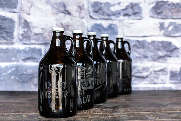 Rad Dad Father's Day Beer Growler