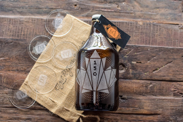 Canada 150th anniversary beer growler design