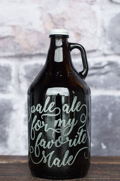 Pale Ale for my Favorite Male Growler