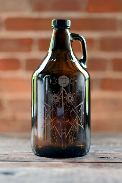 What's Your Sign? Zodiac Gemini Growler