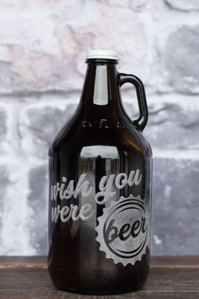 Wish You Were Beer Growler