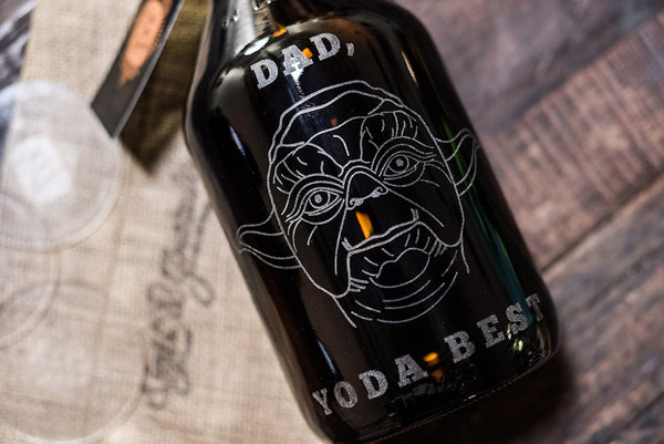 Dad, Yoda Best Father's Day Growler