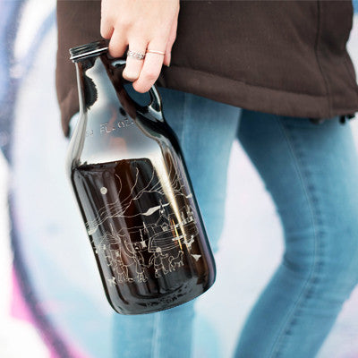 Create Your Own Personalized beer growler design