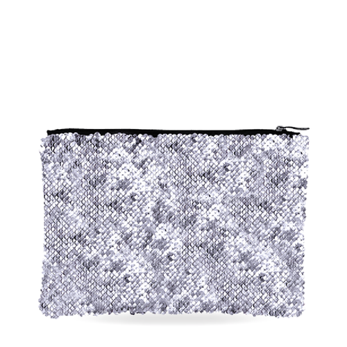 Silver Sequin Bag
