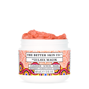 Better Skin Lava Magik: Cleanser - Scrub - Mask
