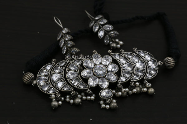 Choker Set - Black & Clear
