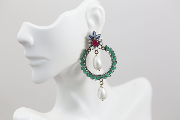 Victorian Chandbaali Earrings