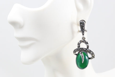Contemporary Victorian Earrings