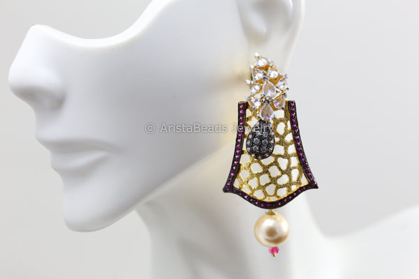 Turkish CZ Earrings