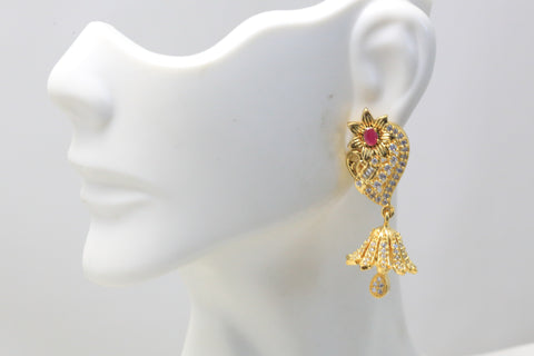 Cute Gram Gold Jhumka