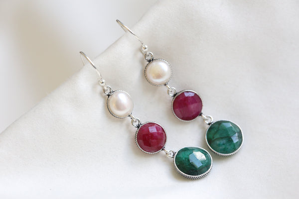 Emerald Ruby Pearl drops