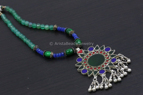 Real Glass Amrapali Replica Necklace