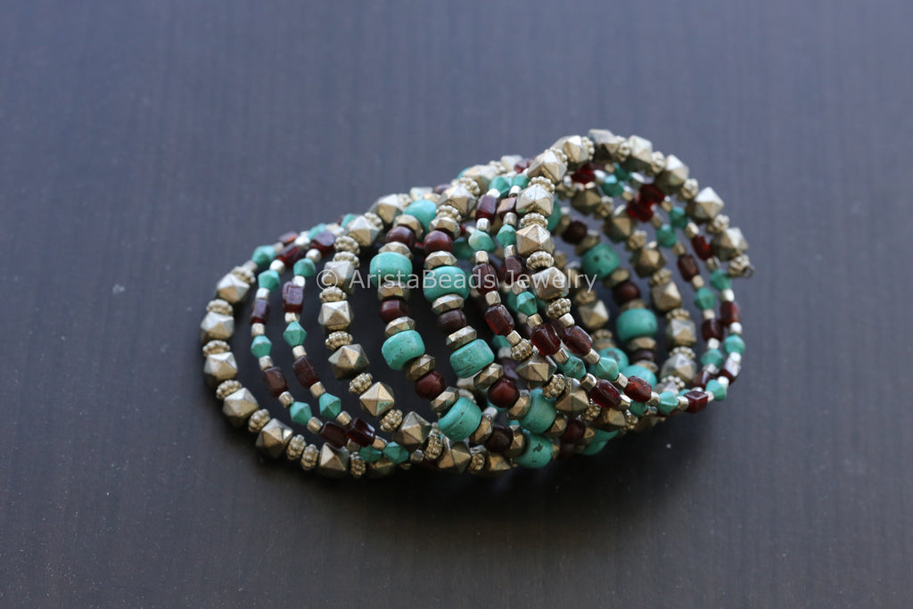 Beaded Adjustable Bracelet