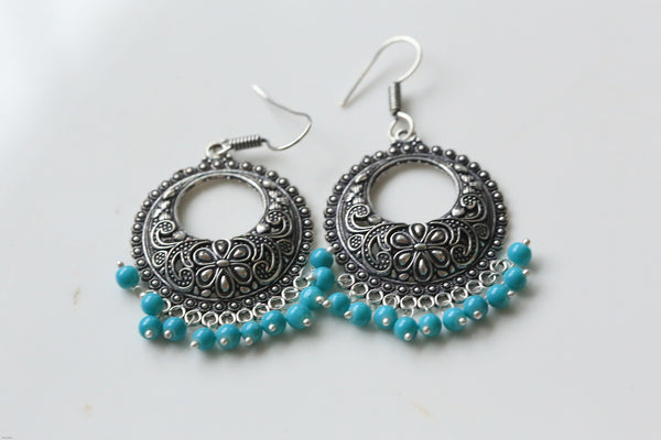 Oxidized Earrings in Assorted Colors - AristaBeads Jewelry - 2