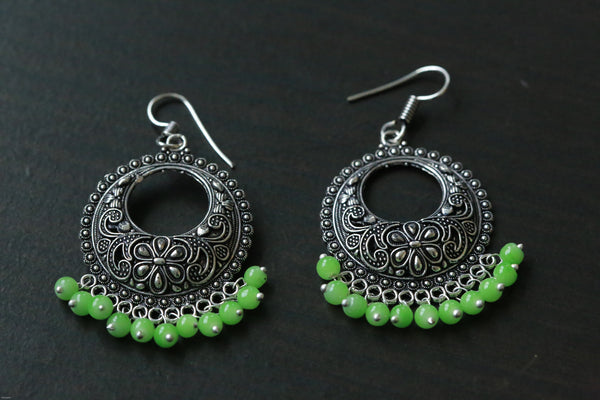 Oxidized Earrings in Assorted Colors - AristaBeads Jewelry - 3