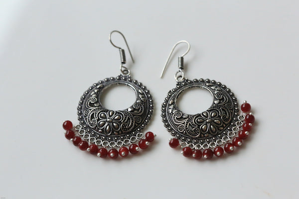 Oxidized Earrings in Assorted Colors - AristaBeads Jewelry - 4