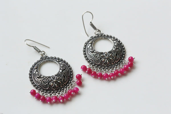 Oxidized Earrings in Assorted Colors - AristaBeads Jewelry - 1