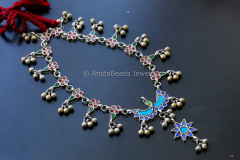 Afghani Real Glass Necklace
