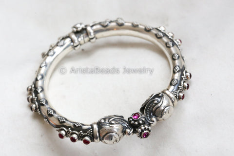 92.5 Pure Silver Openable Bangle