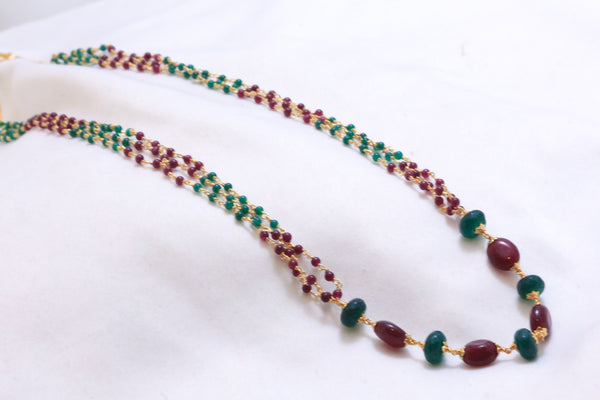 Delicate Semiprecious Mala Necklace - AristaBeads Jewelry - 2