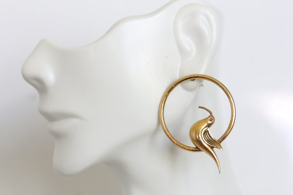 Delicate Bird Earrings