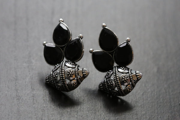 Cute Black Stud Earrings