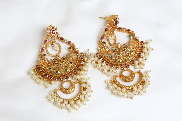 Ethnic Chandbali Earrings
