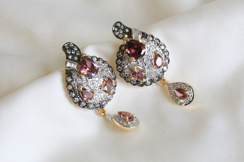 Victorian Style Stud Earrings