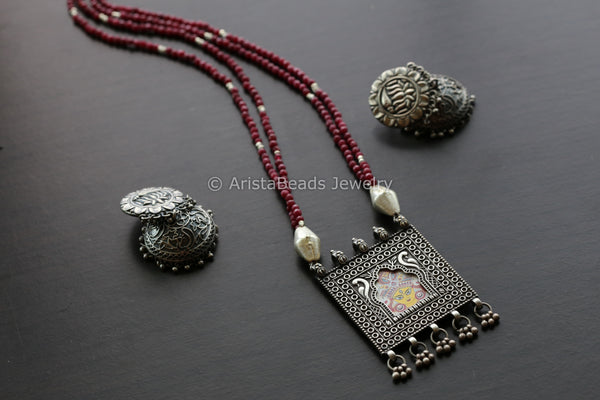 Durga Jharoka Necklace