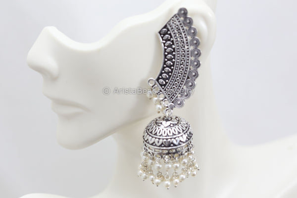 Earcuff Jhumka Earrings