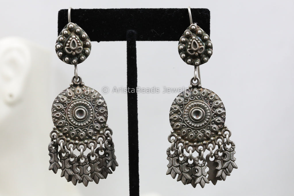 925 Sterling Silver Hook Earrings