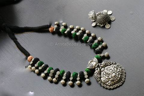 Ganesha Tribal Necklace Set