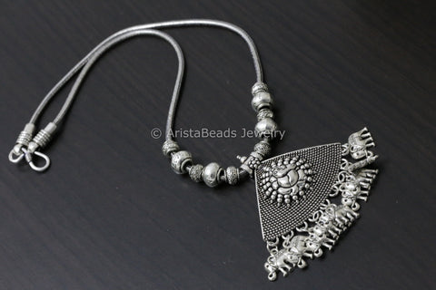 Ganesha Chain Pendant Necklace