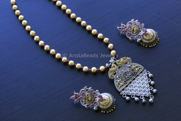Dual Tone Necklace - 2