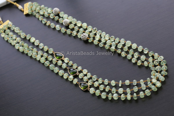 Contemporary Fluorite Layered Mala