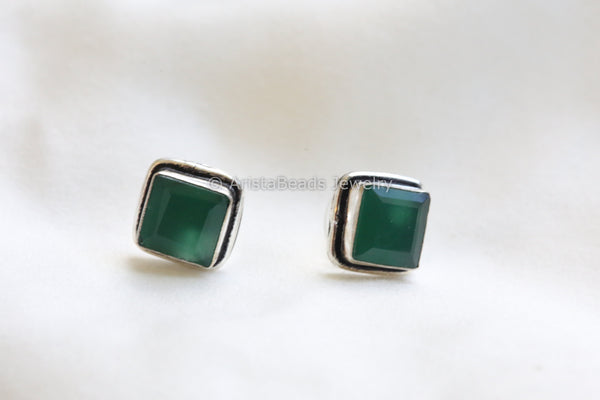 Green Square Stud